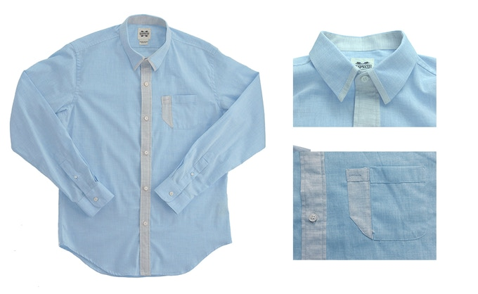 The Blueprint: Premium Italian shirt
