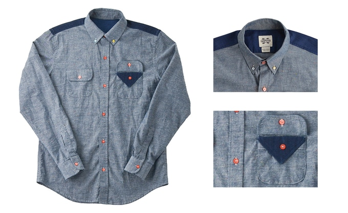 Color Theory: Premium chambray shirt