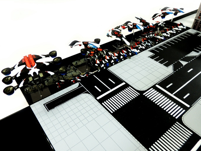 Have your army ready for deployment by placing them on the Games & Gears Gaming tray.