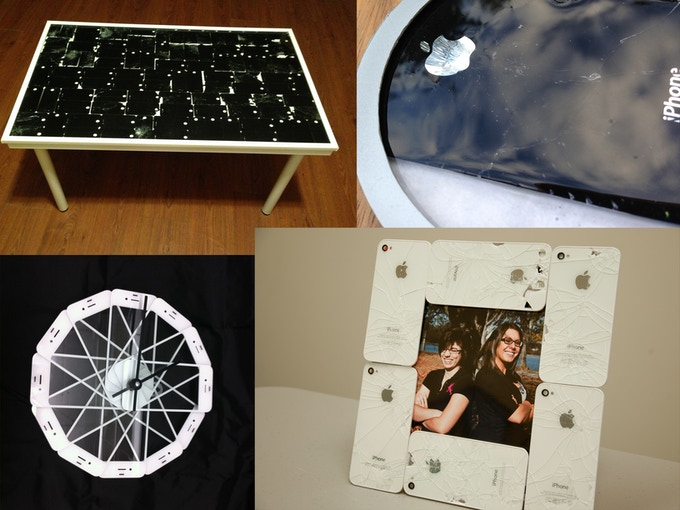 Tables, coasters, clocks and picture frames, oh my!