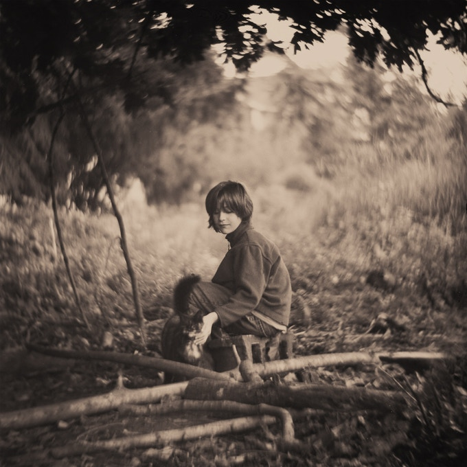 This image was taken with the Petzvar f/3.8 120 mm  mounted on Kiev 88 CM medium format camera with sepia tone added later.