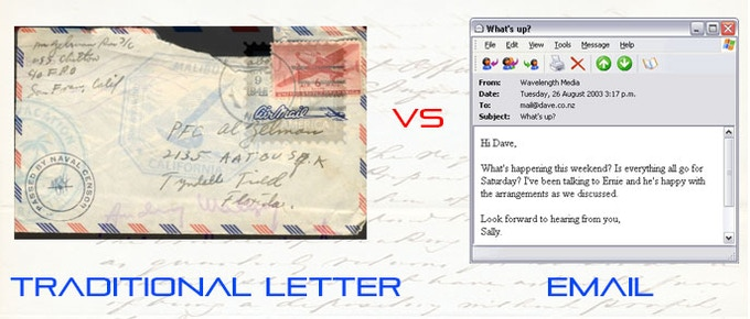 """Wear and Tear of Traditional """"Snail Mail"""" Envelopes Is Becoming A Thing of the Past"""
