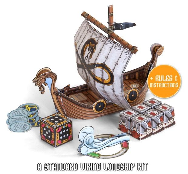 Viking Horde: A Paper-craft Game by Adam Walker Studio — Kickstarter