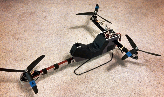 1/9 scale hoverbike