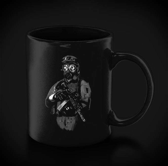 Themed mug for your coffee or tea. Receive when you pledge $250 or more.