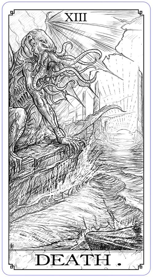 Death - Cthulhu Ascendant - XIII