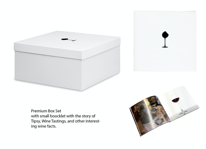 Wine Tasting Master Set, with limited edition Tipsy Booklet