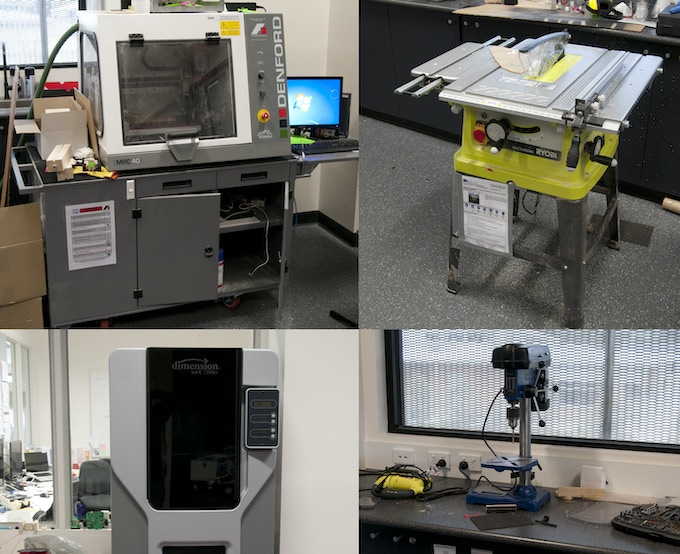 Images of the machines that I have access to