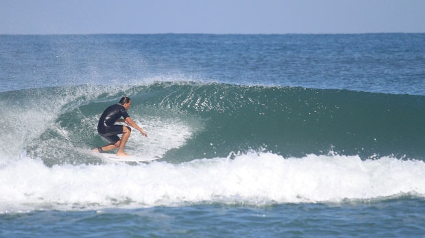 Thomas in Hossegor, France
