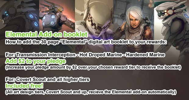 Read Update #7 for details on the Elemental booklet add-on