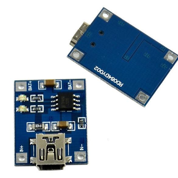 USB Li-Ion Charging Circuit