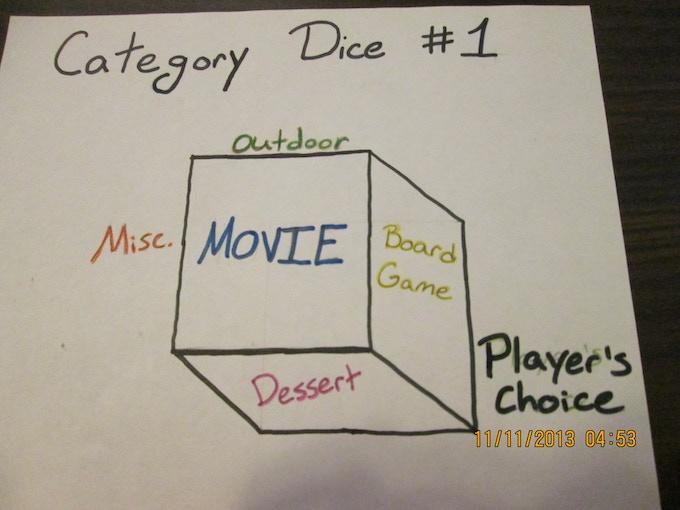 category dice  #1