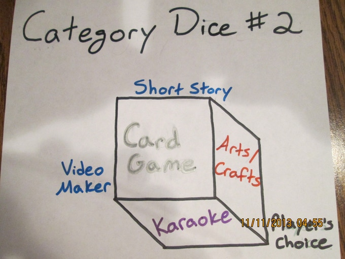 category dice # 2