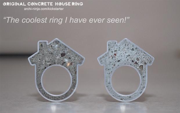 Original Concrete House Ring