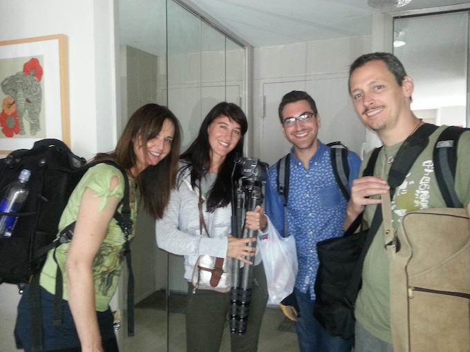 Director of Photography- Svetlana Cvetco, Director/Producer-Michelle Ortega, Gaffer- Chris Turiello, Audio Operator- David Tews