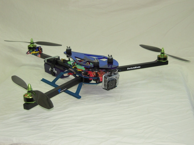 SwitchBlade-Pro with New Drive Components
