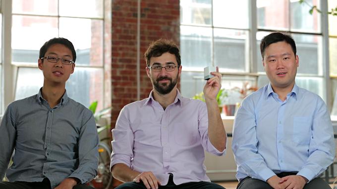 Co-founders Paul Peng, Djordje Dikic & Rocky Liang