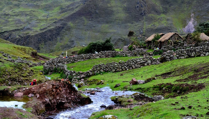 Village in the High Andes