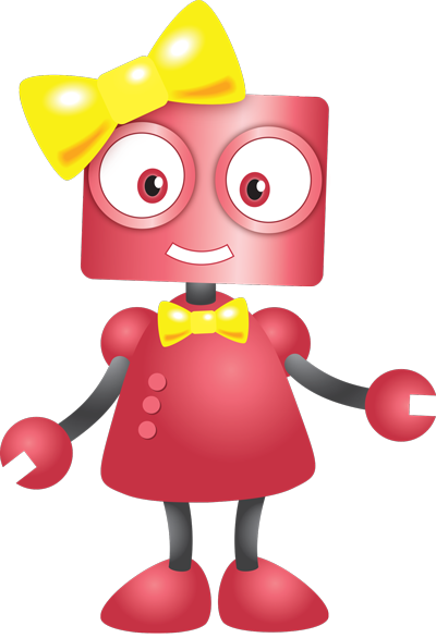 This is a design of a new robot character that players will be able to choose in the expansion packs!