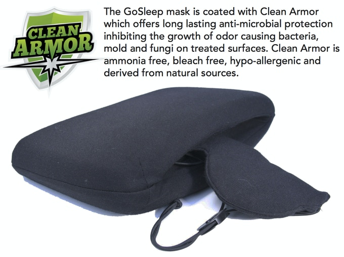 Go Sleep Mask Support & fort for your Trip by Thomas Parziale