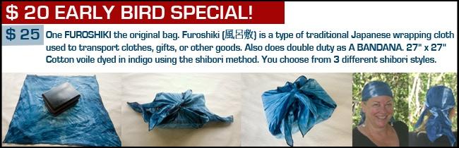 $20 & $25 Reward - Furoshiki