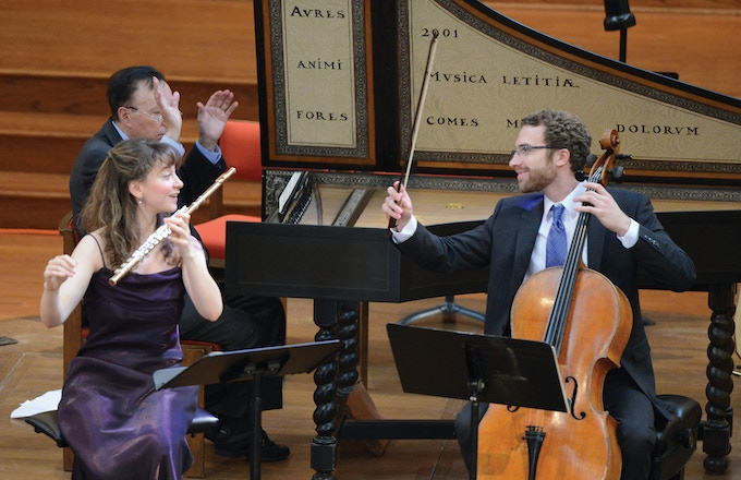 """Dolce Suono Ensemble performs """"Debussy and the Baroque"""" concert, April 2013"""