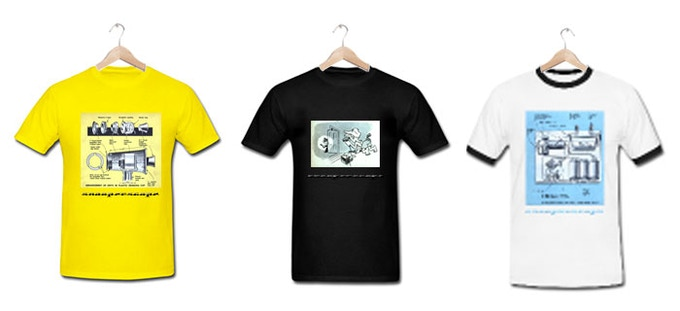 The Snooperscope T-shirts