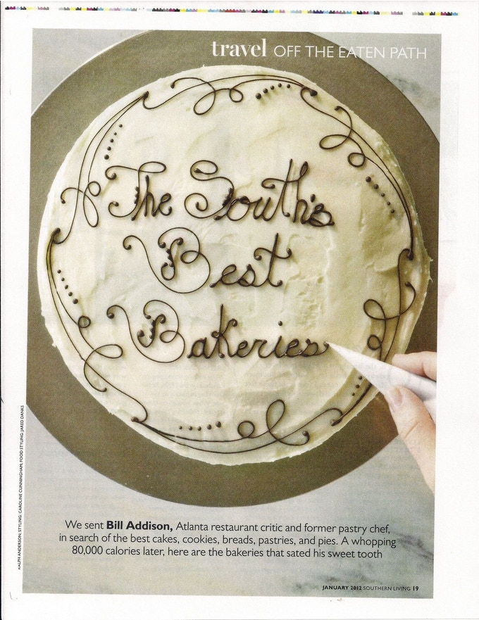 Named Best Cookies by Southern Living 2012
