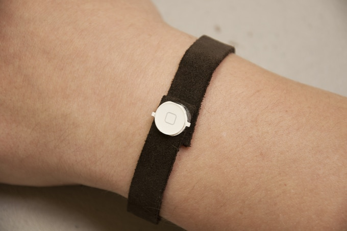 Leather strap version.