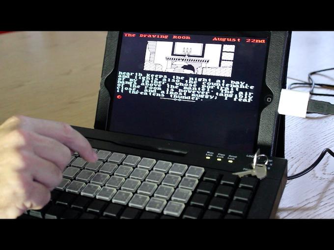 The functional prototype Bluetooth ZX Spectrum.