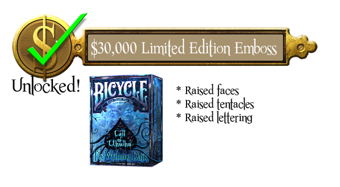 30k - Limited Tuck Complete Embossing - Unlocked