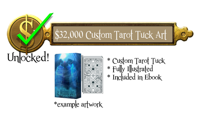 32k - Complete Cover Art for Tarot Box - Unlocked