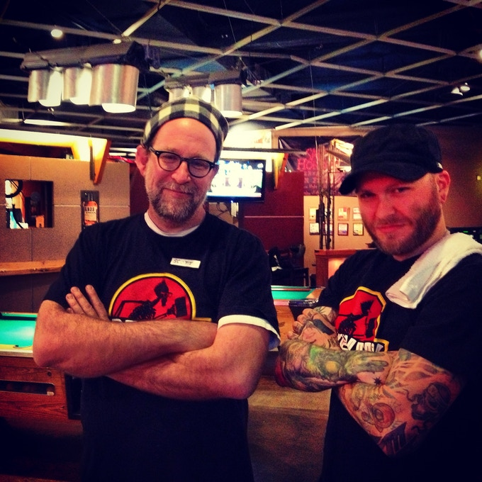 Long standing veterans Scott Farley and Rob Petrich