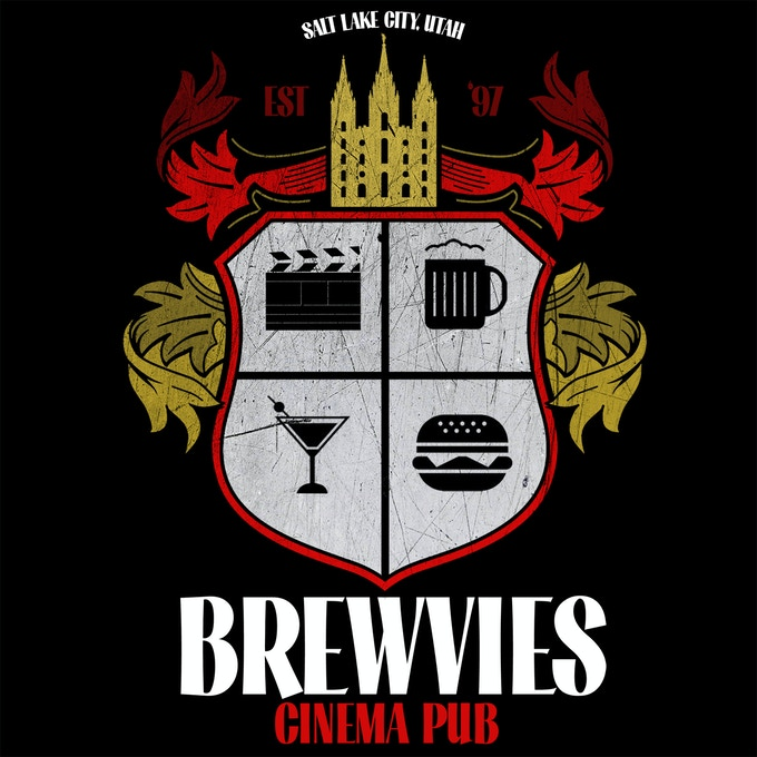 Brewvies Crest, design by Rob Petrich