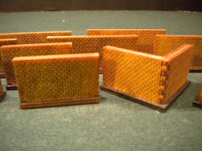 Brick Wall Set -