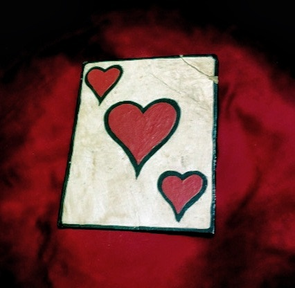 """Ace of Hearts"" original artwork Hat-Card"