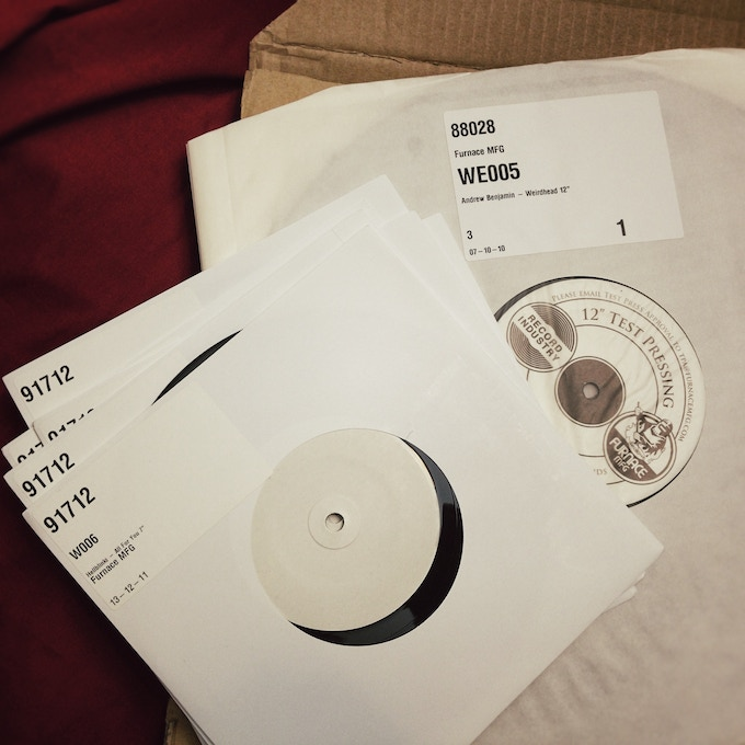 """7"""" and 12"""" test pressings"""