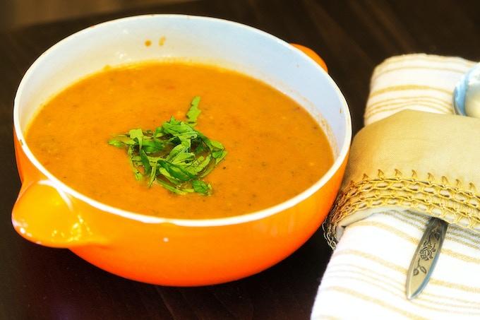 Tomato Basil Soup. Photo by Matt Green Photo, Boise.