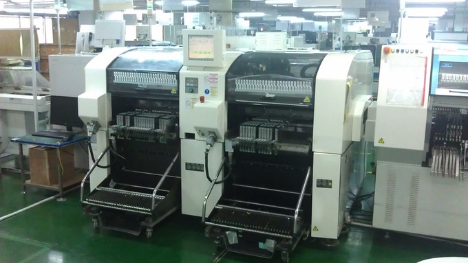 Visiting a PCB manufacturing facility.