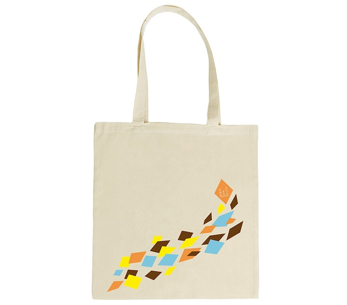 Limited edition Pop-Up City tote bag