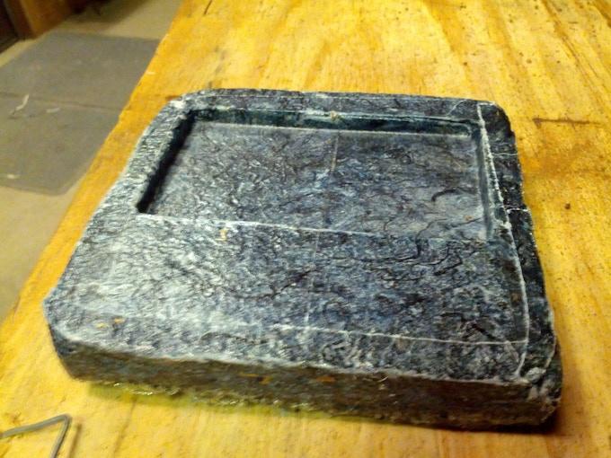 1st Near Net Molded Wallet Prototype