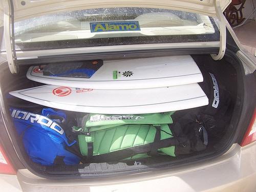 Split Board Car