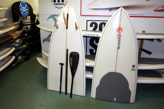 Split Board for sale in a retail shop