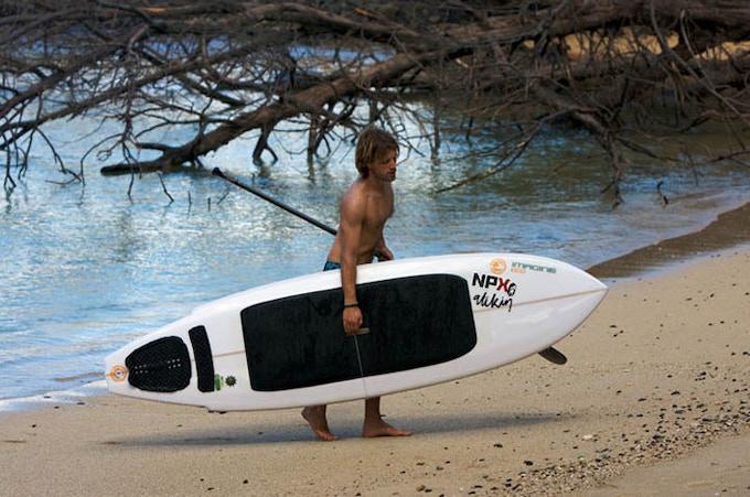 Split Board in Hawaii