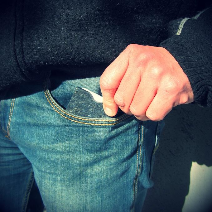Denimite Wallet pocket pic