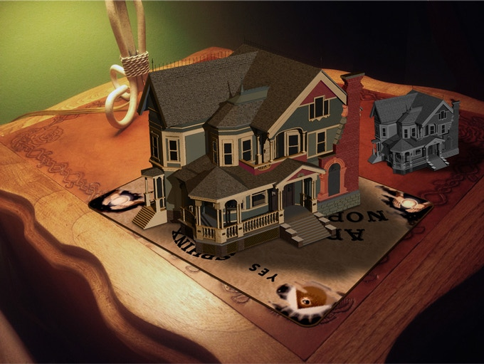 These models of the mansion can be had at the Model Maker and Supervisor levels.