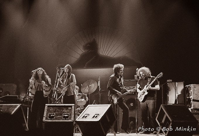 LIVE DEAD - The Grateful Dead Photographed by Bob Minkin by Bob