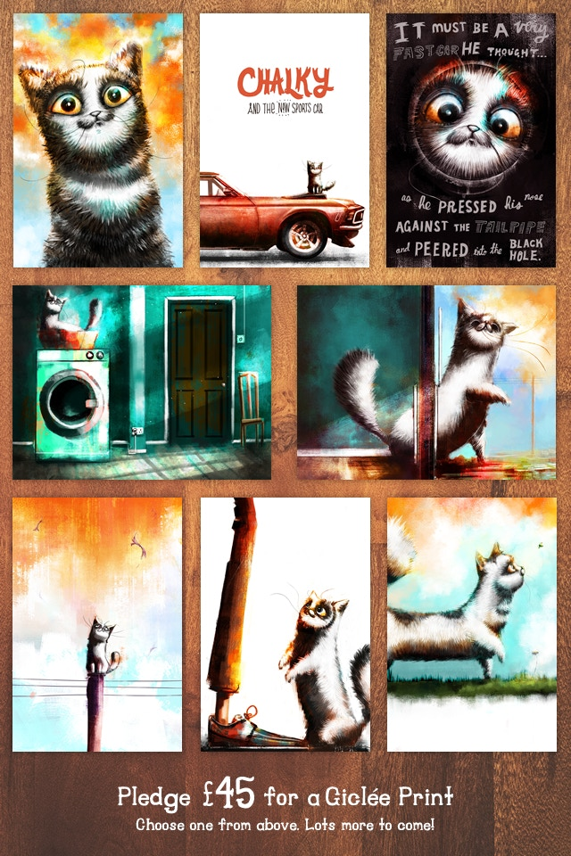 Choose one of the many giclée prints shown above. Lots more will be added!
