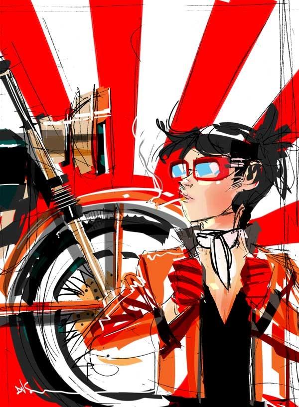Prelim for Cafe Racer by Dustin Nguyen