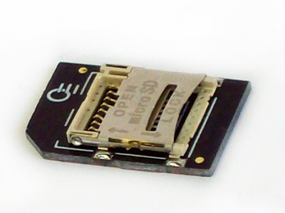 Prototype of Micro-SD card adapter